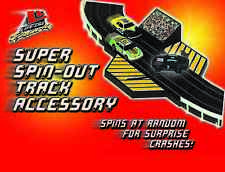 HO Slot Car Track Parts - Life Like Spin-Out Action Accessory Pack - 9499