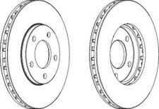 Ferodo Front Brake Disc DDF366 Fits CHRYSLER VOYAGER 2.5 (Pair)
