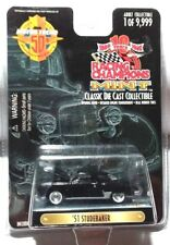 1999 RACING CHAMPIONS MINT EDITION '51 STUDEBAKER W/REAL RUBBER TIRES-1 OF 9,999