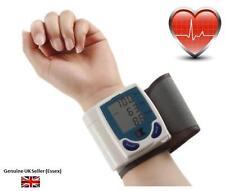 Muñeca Presión Arterial De Pulso Digital Monitor De Ritmo Cardiaco Salud Medidor Con Memoria