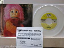 """Dinosaur Jr-The vagone WHITE VINYL 7"""" single Sub Pop sb68"""