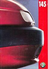 Alfa Romeo - 145 -  Prospekt - Deutsch - D 82200240