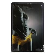 Hot Sexy Lady Pin Up Girl Metal Poster Tin Sign Wall Art Bar Pub decor man cave