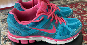 Nike Pegasus 28..Size 8..Pink and Teal..Good Condition