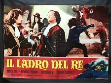 FOTOBUSTA CINEMA - IL LADRO DEL RE - ANN BLYTH - 1955 - AVVENTURA - 08