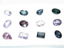 12 LOOSE 6.0CTW 6X4MM AVG MULTI-COLORED MIXED BURMESE SPINEL GEMSTONES