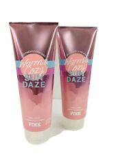 Victoria's Secret Pink Warm And Cozy Sun Daze Body Cream * New*