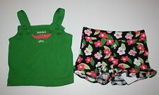 New Gymboree Palm Beach Paradise Alligator Tank Top Floral Short Set 6-12M NWT