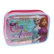 Official Disney Frozen Anna Elsa Hair Accessories Comb Clips Bobble Case Gift