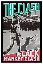 1980's Punk: The Clash * Black Market Clash * Promotional Poster
