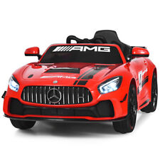 12V Mercedes Benz AMG Licensed Kids Ride On Car with 2.4G Remote Control Red