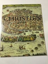 Christie'S London Cartography Maps Atlases Globes Auction Catalog -July 10, 2002
