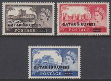 Qatar 1966 ** Mi.13/15 I Königin Queen Elizabeth II