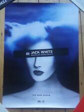 Jack White Boarding House Reach LP Official Promo Poster White Stripes Third man