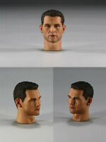 In-Stock 1/6 Scale Male Sculpt For Tom Cruise For 12'' Figure HW/Neck