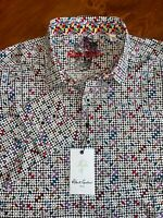 Robert Graham Long Sleeve Shirt Anemone Men's Multiple Sizes $198