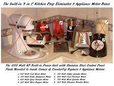 4 in 1 BUILT-IN Mixer + Blender + Chopper + Meat Grinder: Nutone Food Center 251