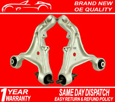 Pair Front Lower Suspension Wishbone Control Arms For Volvo S60, V70 Mk2