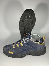 Ryka Women's Outdoor Walking Shoes Blue Suede Material K24037 Size 9 M
