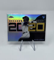 2020 Topps Chrome Update Kyle Lewis Decades Next Refractor SP RC #DNC-19
