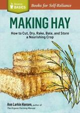Making Hay: How to Cut, Dry, Rake, Gather, and Store a Nourishing-ExLibrary