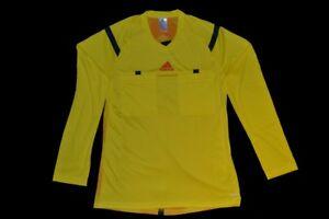 adidas Herren Langarm Schiedsrichter Trikot Referee 14, Vivid Yellow