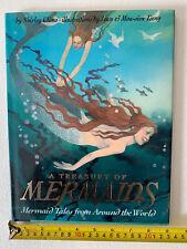 New ListingVintage book, A Treasury Of Mermaids , hardcover, illustrated