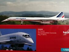 Herpa Wings 532839 Air France Concorde - nose down position Herpa Wings 1:500