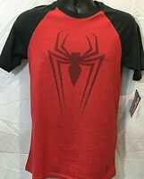 Marvel Official T-Shirt Red Spiderman Licensed Tee Various Sizes