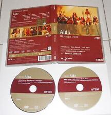2 Dvd Giuseppe Verdi AIDA Franco Zeffirelli Adina Aaron Scott Piper Rai 2006