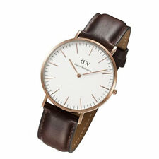 Daniel Wellington Men's 0109DW Classic Bristol Analog Display Quartz Brown Wa...