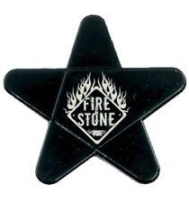 1 Médiator étoile Fire&Stone - noir - 5 duretés