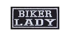 Biker Lady patch ricamate BADGE Biker Heavy Rocker STAFFA immagine tonaca MOTO