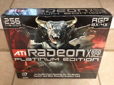 ATI Radeon X800XT PE 256MB 256-Bit GDDR3 AGP 4X/8X Video Card - Factory Sealed!