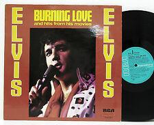 Elvis        Burning Love       INTS  1414         NM  # M