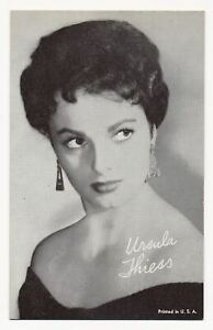 Ursula Thiess - Vintage Penny Arcade Trading Card 1950's