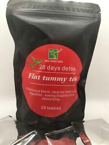 28 Day Detox, Flat Tummy Tea. 100% Natural Herbs. Weight Loss, and Fat Burner.