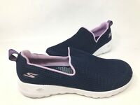 NEW! Skechers Women's GOWALK JOY CENTERPIECE Shoes Nvy/lvder #15637 176P tk