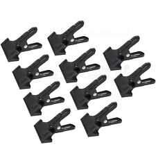 Photo Background Muslin Spring Metal Clamps Photography Video Studio Clips 12pk
