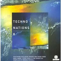 Techno Nations 8 (1998) Puente Latino, Percy X, Landlord, Sound Associate.. [CD]
