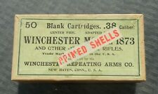 Rare Vintage Winchester Model 1873 .38 cal. Blank Cartridge ammo box