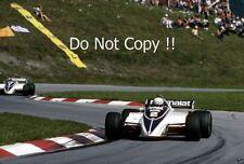 Riccardo Patrese Brabham BT50 Austrian Grand Prix 1982 Photograph 3