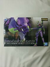 Bandai Hobby Evangelion Unit-01 Eva-01 Rg 1/144 Model Kit Usa Seller.