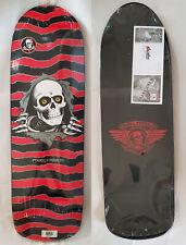 "Powell Peralta Old School Ripper Skateboard Deck 10""  Red Black"
