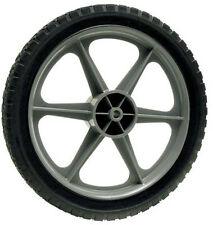 "Arnold 14"" Rear Plastic Wheel Tire - 22"" Deck Murray Craftsman Ryobi Push Mower"