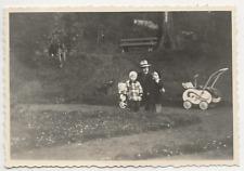 49/579  FOTO - HISTORISCHER KINDERWAGEN