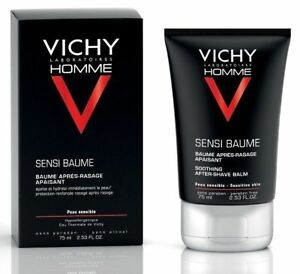 VICHY HOMME AFTER SHAVE ANTI- REACTION COMFORT BALM FOR SENSITIVE SKIN 75ML