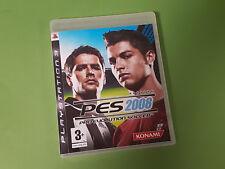 Pro Evolution Soccer [PES] 2008 Sony Playstation 3 PS3 Game - Konami