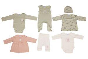 Baby Mädchen Body Strampler 7er Set NEU KLITZEKLEIN Größe 50/56 62/68 UVP:89,99€