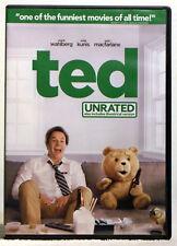 Ted (DVD, 2012, UNRATED) Mark Wahlberg, Mila Kunis, Joel Mchale, Giovanni Ribisi